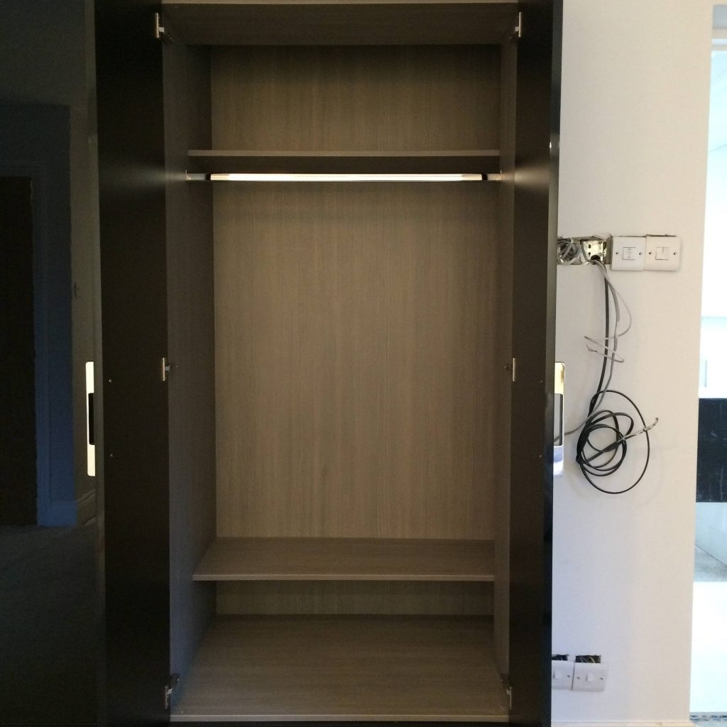 Gloss Black Wardrobes With Regard To Most Current Elegant Gloss Black Wardrobes – Buildsimplehome (Gallery 13 of 15)