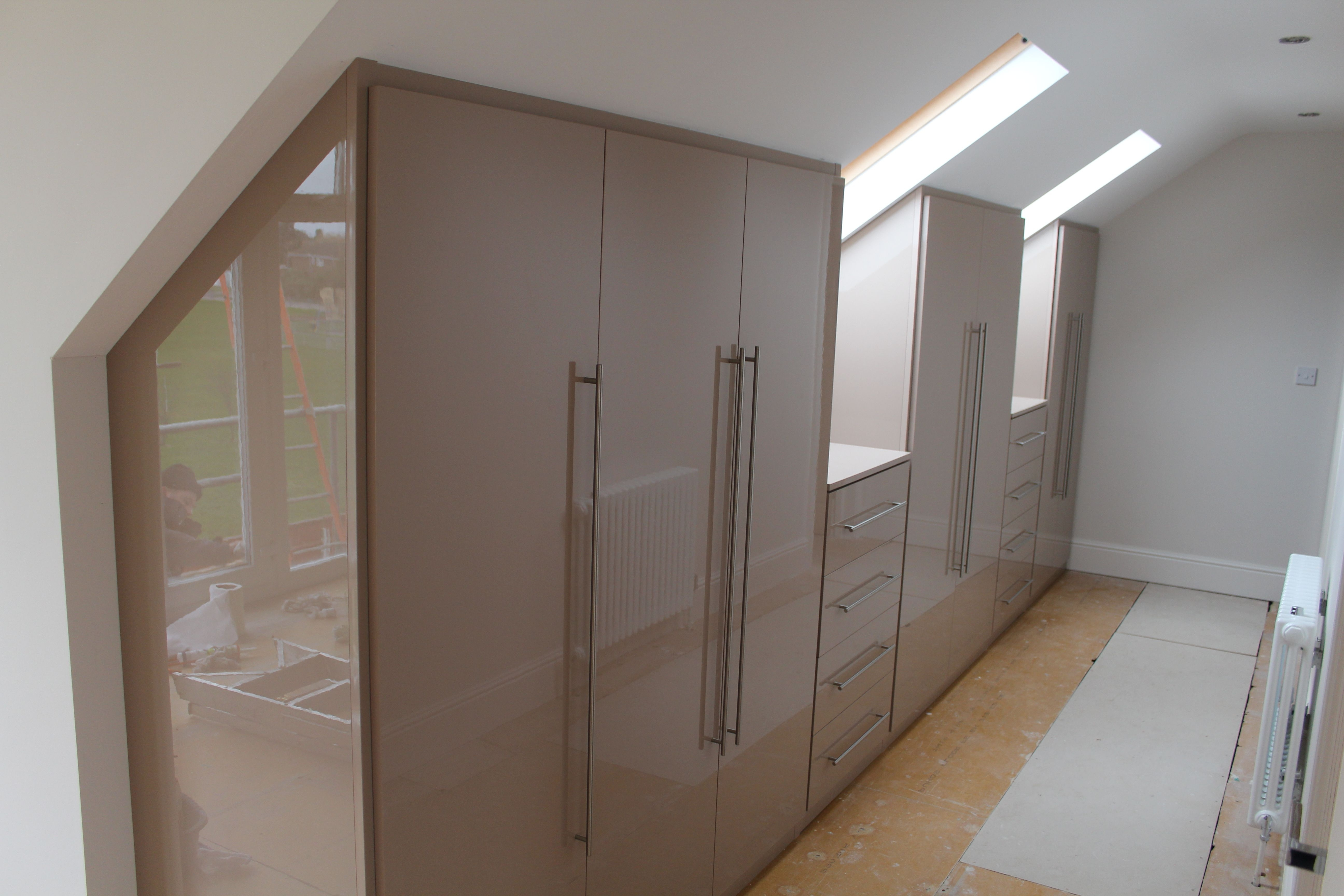 Gloss Wardrobes Inside Most Recently Released High Gloss Wardrobes Contemporary Wardrobe Doors Bespoke Fitted (View 9 of 15)