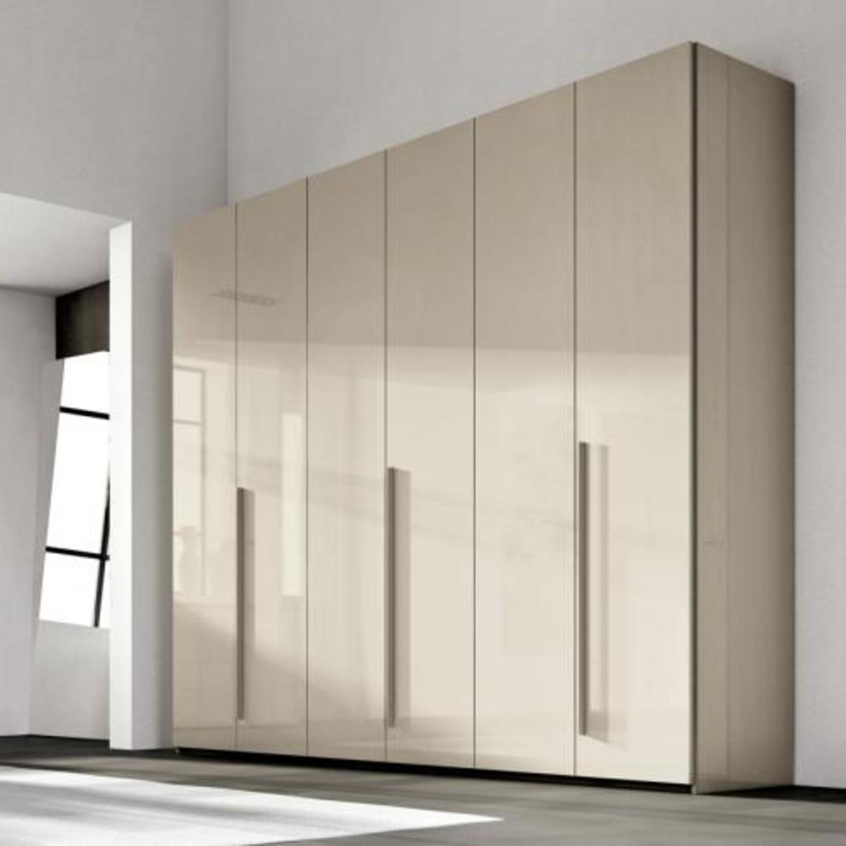 Glossy Wardrobes For Well Known Inexpensive Italian Wardrobes (View 4 of 15)