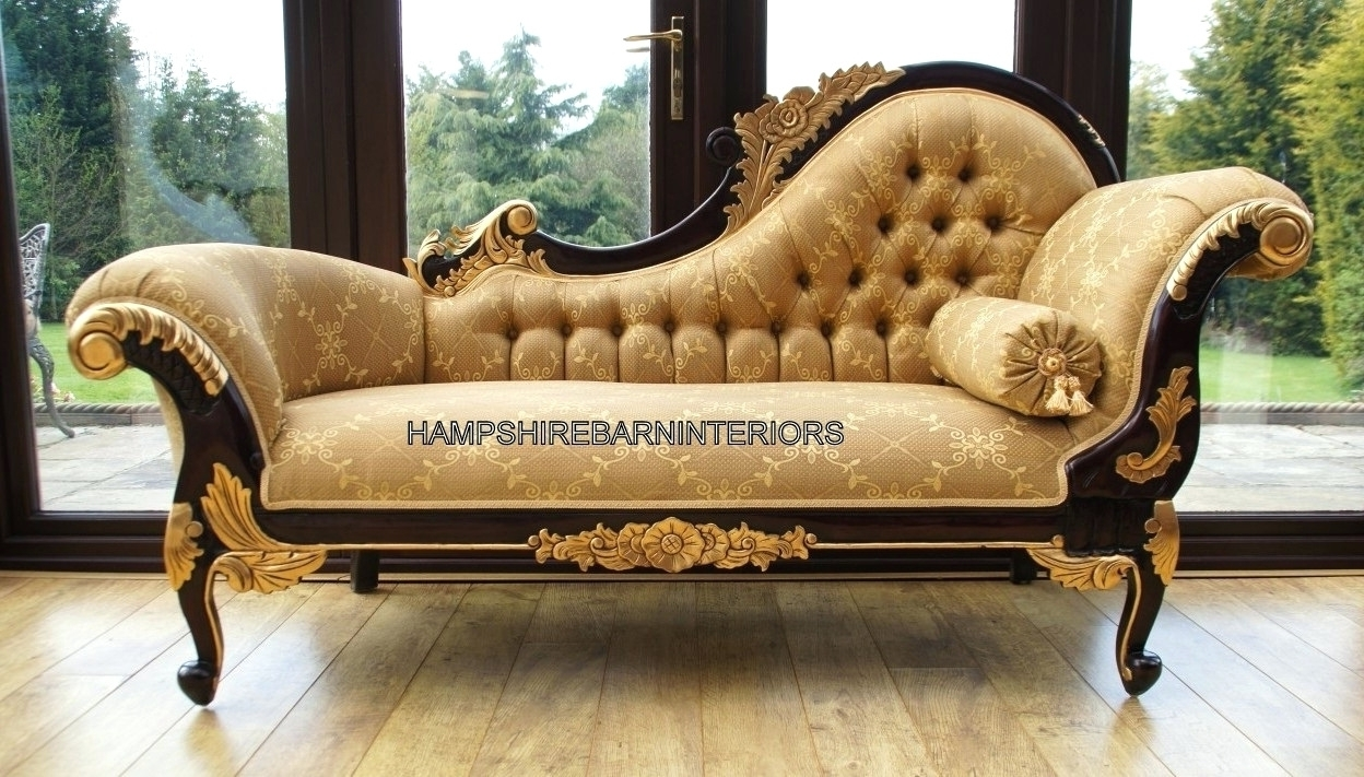 Gold Chaise Lounge Chairs With Recent Throne Chair Red Velvet And Gold Leaf Mystere Gold Velvet (View 4 of 15)
