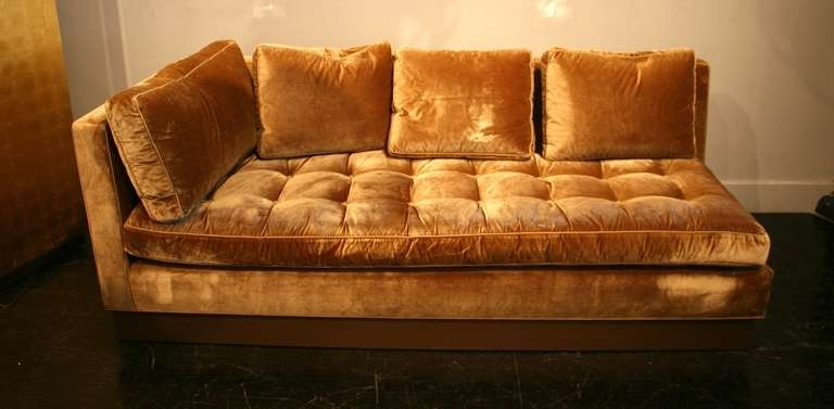 Gold Sectional Sofas Regarding Most Popular Gold Sectional Sofa – Home Design Ideas And Pictures (View 4 of 10)