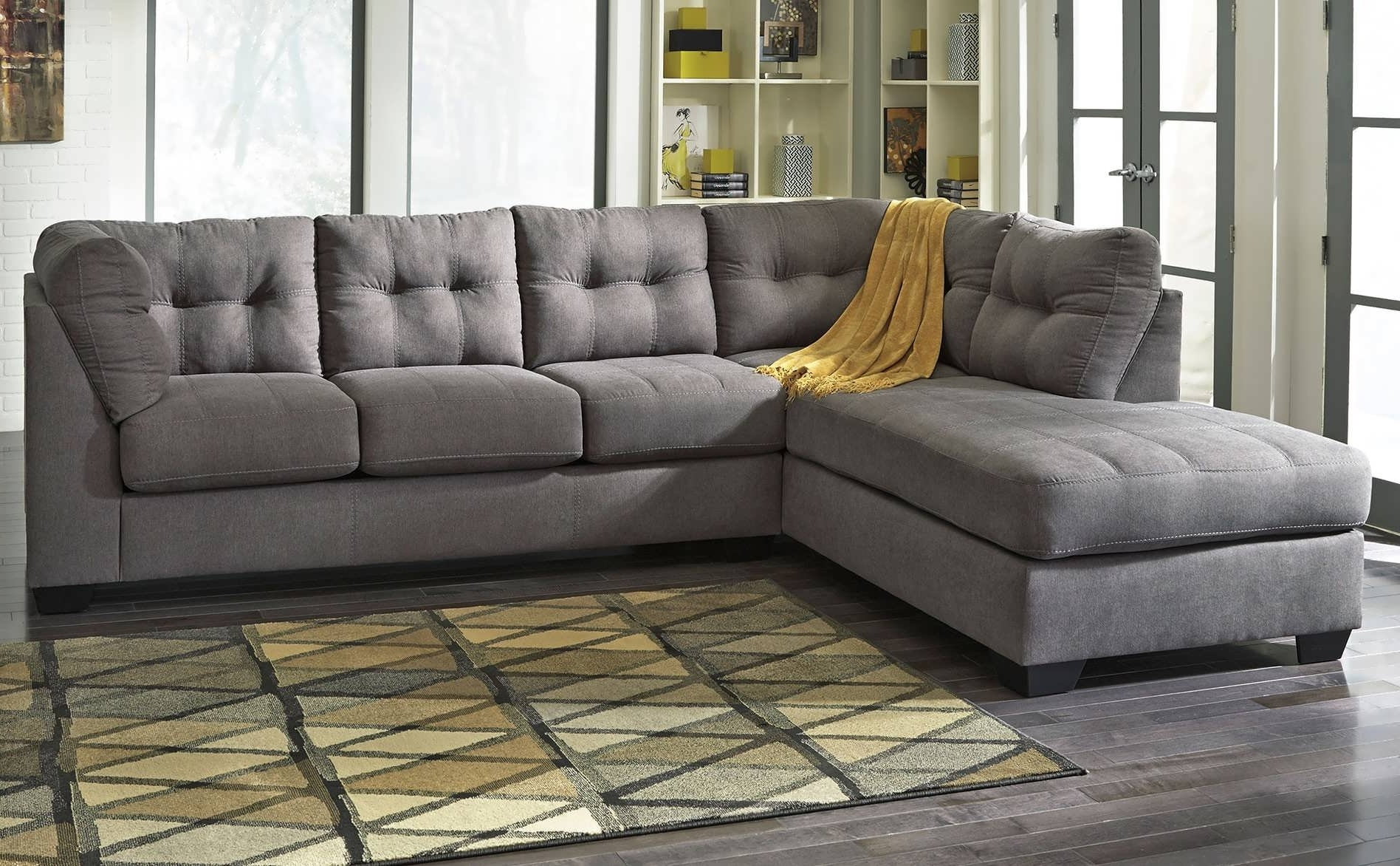 Gray Sectional Sofas With Chaise Within Most Up To Date Sofa : Small Gray Sectional Gray Sectional With Chaise Grey (Gallery 3 of 15)