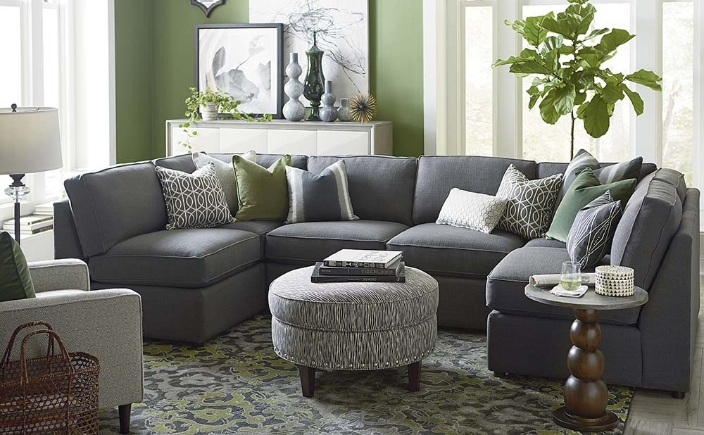 Gray U Shaped Sectionals Throughout Well Known U Shaped Sectional Sofa Fabric — Fabrizio Design : Fashionable U (Gallery 1 of 10)