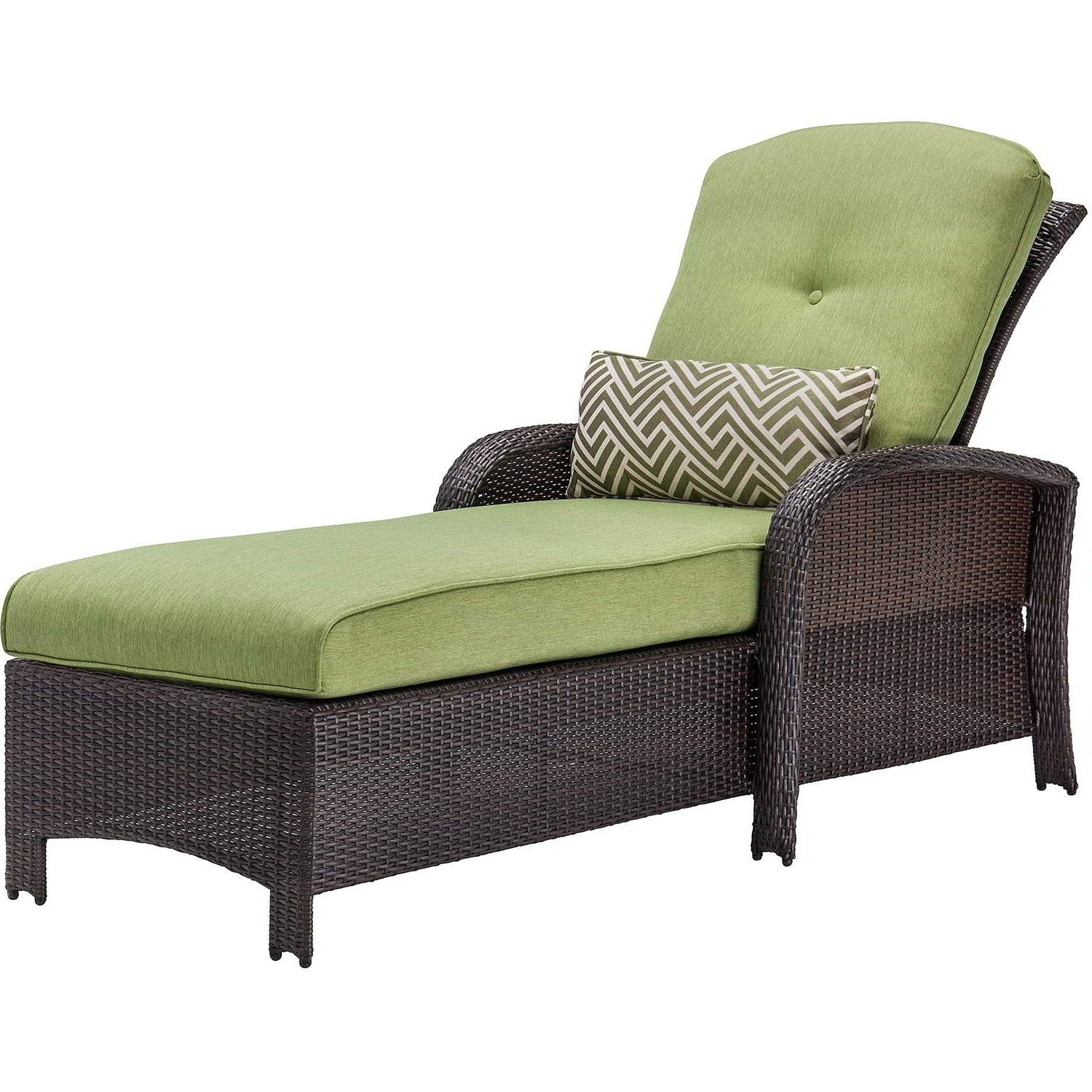 Green Chaise Lounge Chairs With Regard To Well Liked Strathmere Luxury Chaise In Cilantro Green – Strathchs (View 5 of 15)