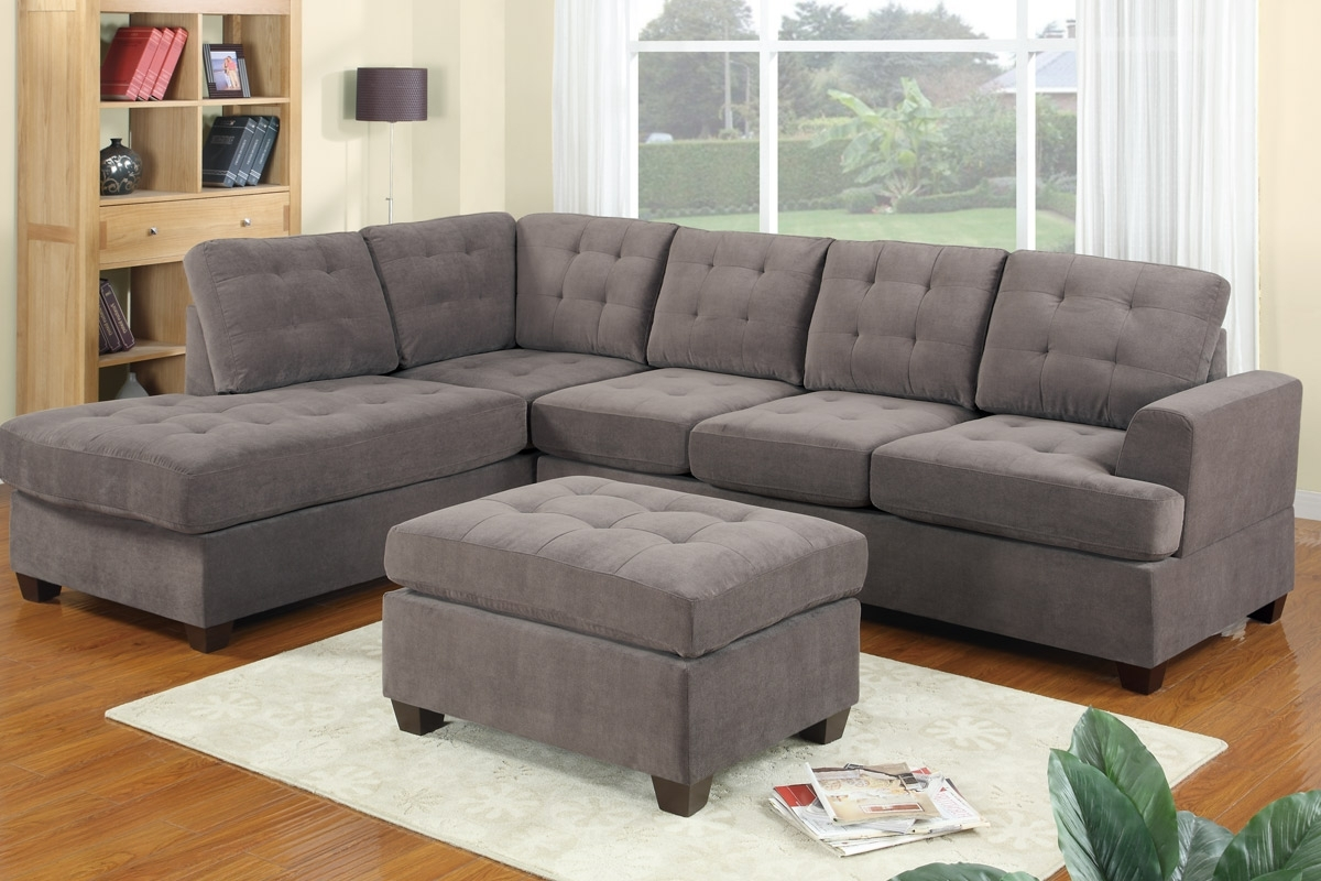 Grey Sectionals With Chaise For Well Liked Sectional Sofas With Recliners And Cup Holders Grey Reclining (View 6 of 15)