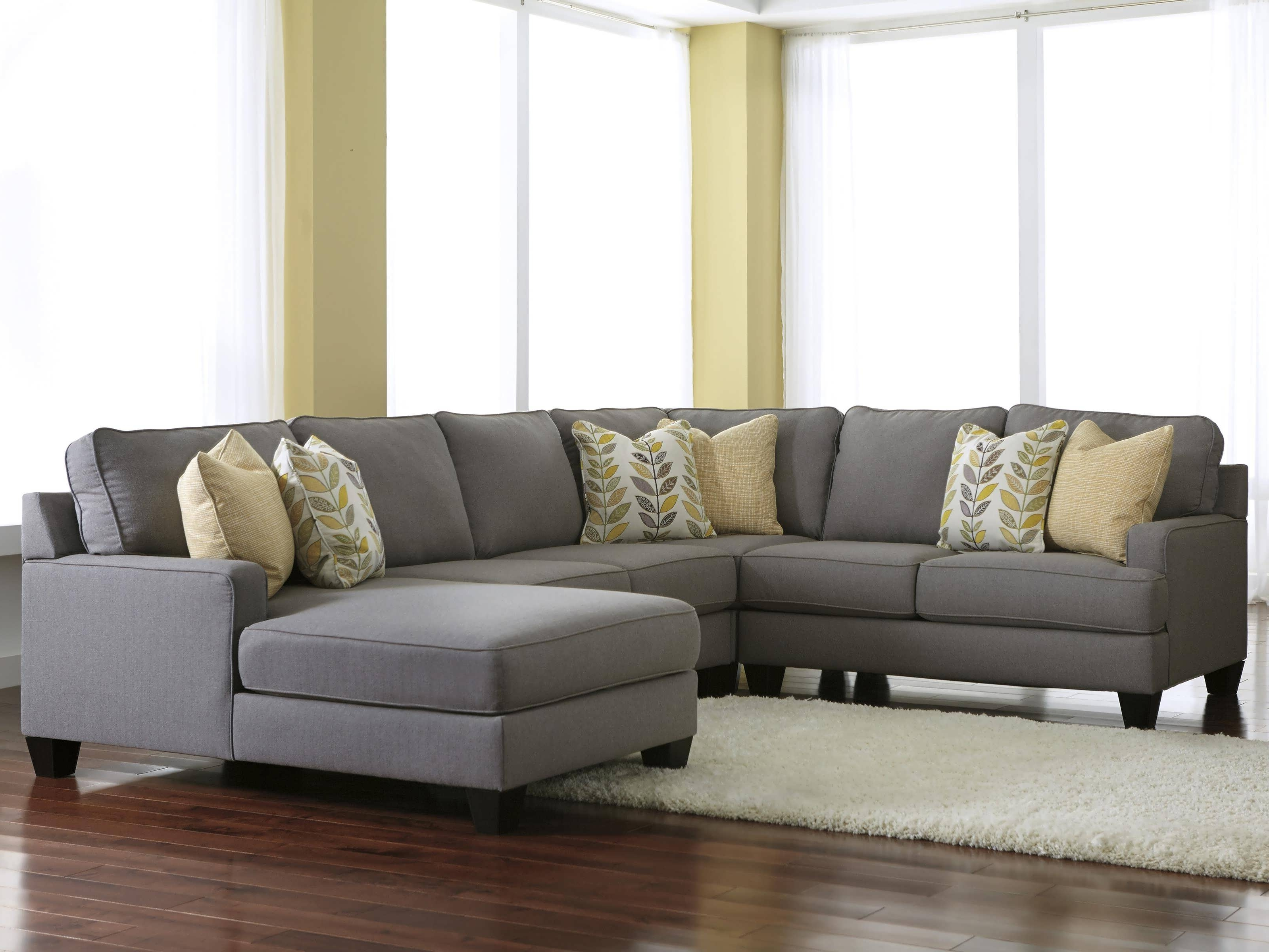 Grey Sectionals With Chaise Inside Latest Sofa : Sectional With Chaise Oversized Sectionals Grey L Sofa (View 7 of 15)