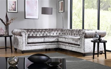 Hampton Chesterfield Ivory Leather Corner Sofa Only £ (View 4 of 10)