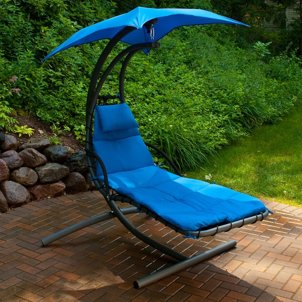 Hanging Chaise Lounge Chairs Pertaining To Well Liked Cloud 9 Hanging Chaise Lounge – American Sale (View 9 of 15)