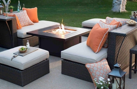 Hayneedle Throughout Patio Sofas (Gallery 5 of 10)