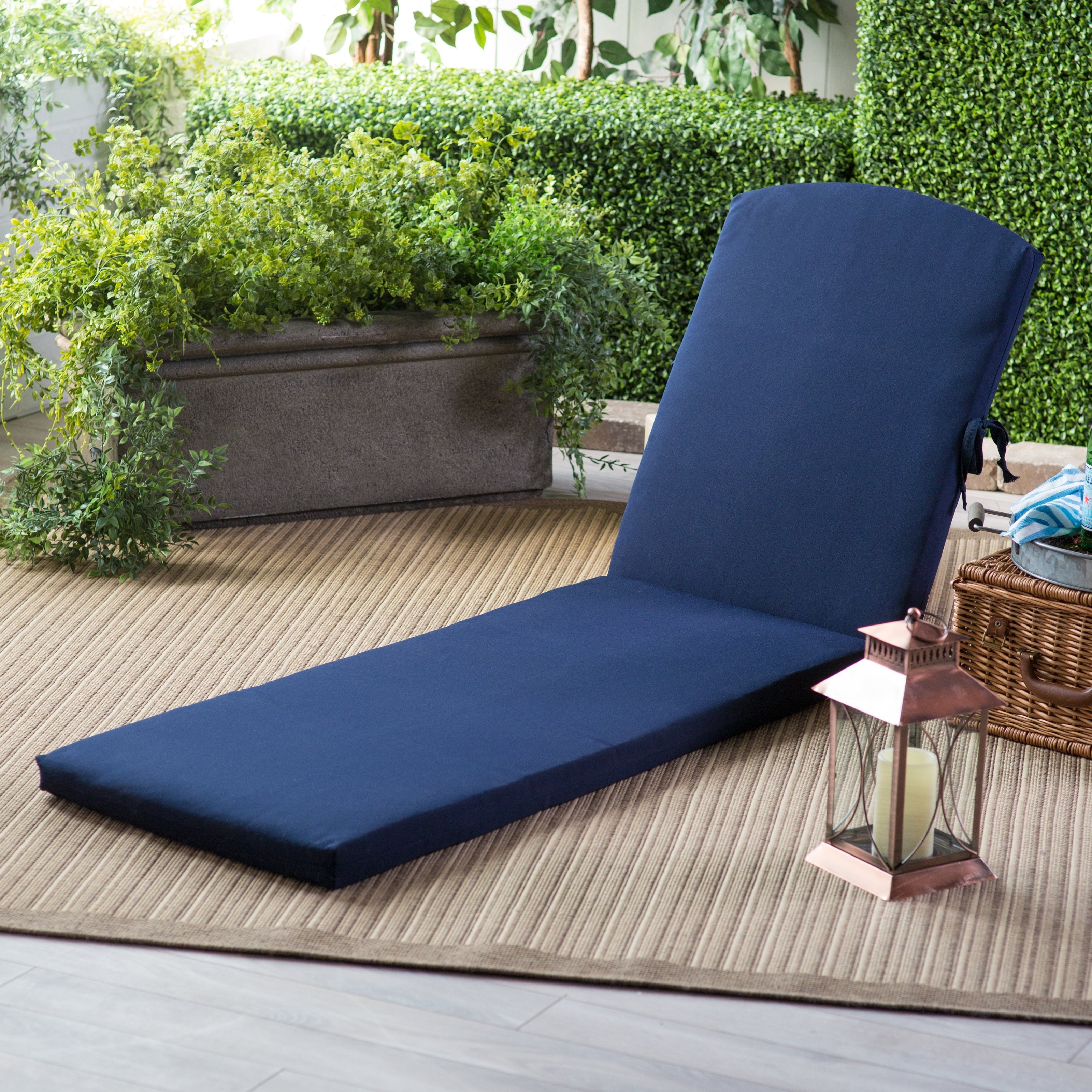 Hayneedle With Best And Newest Chaise Lounge Chair Outdoor Cushions (View 2 of 15)