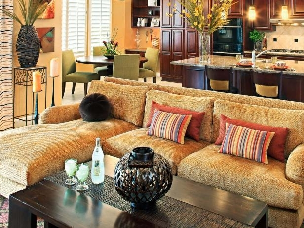 Hgtv With Regard To Best And Newest Gold Sectional Sofas (Gallery 5 of 10)