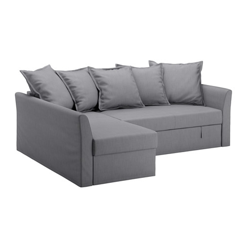 Holmsund Sleeper Sectional, 3 Seat – Nordvalla Medium Gray – Ikea With Regard To Fashionable Ikea Sectional Sleeper Sofas (Gallery 7 of 10)
