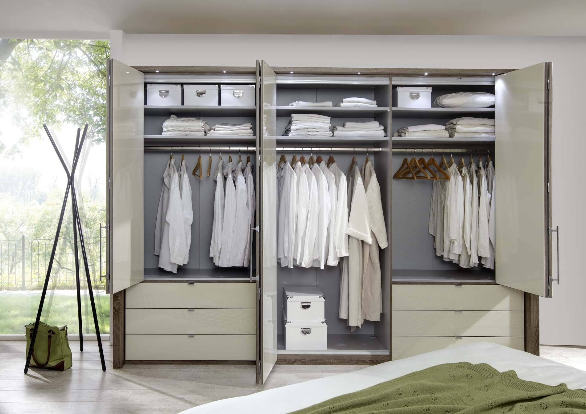 Home Decor & Furnitures For Preferred 6 Door Wardrobes Bedroom Furniture (View 9 of 15)