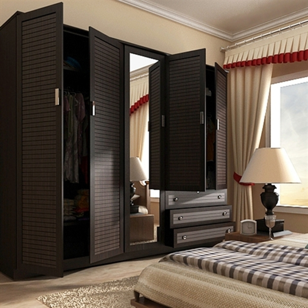 Home Decor & Furnitures Intended For 5 Door Wardrobes Bedroom Furniture (View 8 of 15)