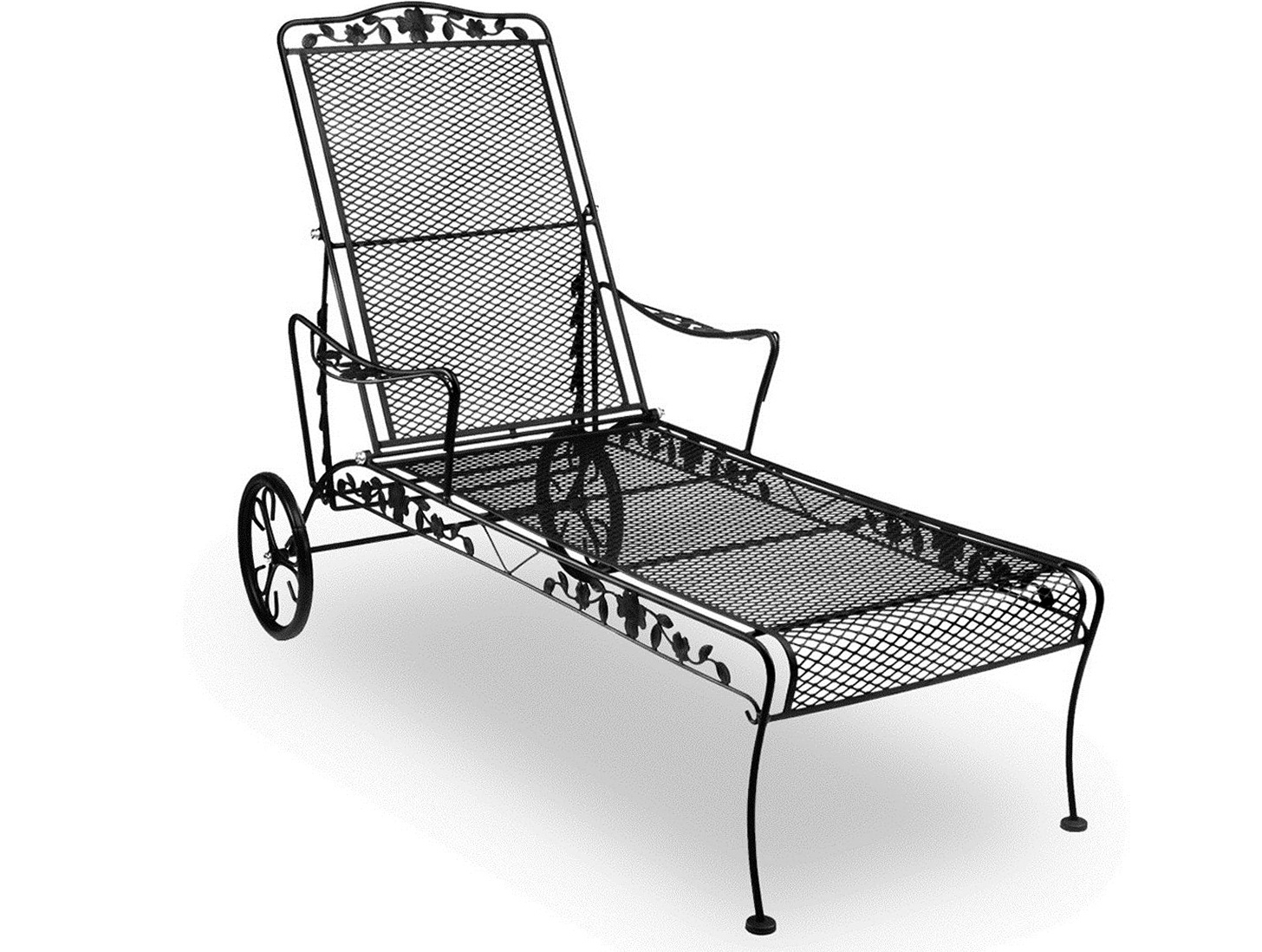 Home Design Ideas Regarding Well Known Wrought Iron Chaise Lounges (View 4 of 15)