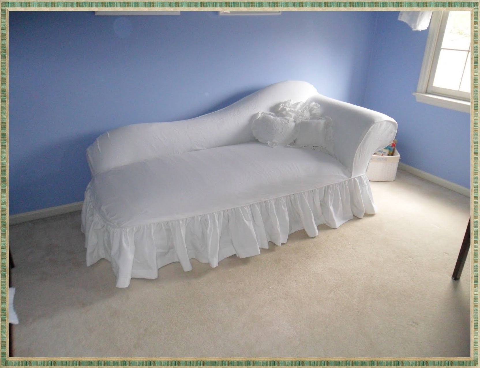Home Design Insight Pertaining To Chaise Lounge Slipcovers (View 13 of 15)