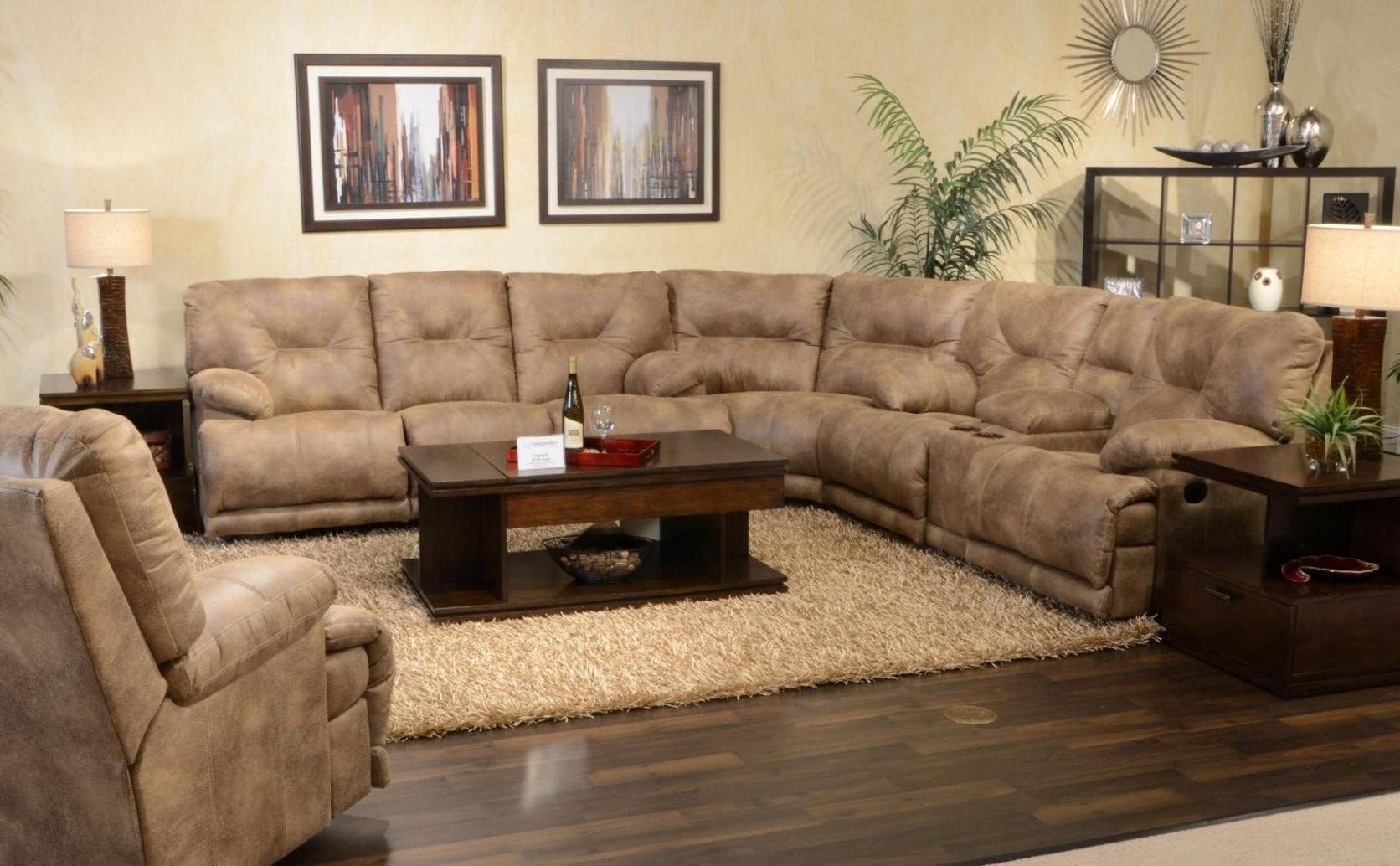 Home Design With Well Known Sectional Sofas With Recliners And Chaise (View 3 of 15)