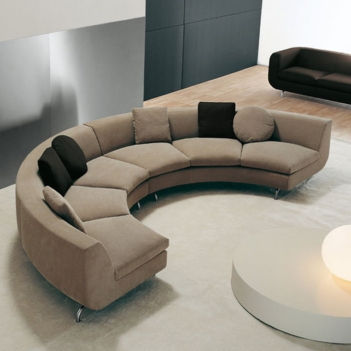 Home Vid In Well Known Rounded Sofas (View 5 of 10)