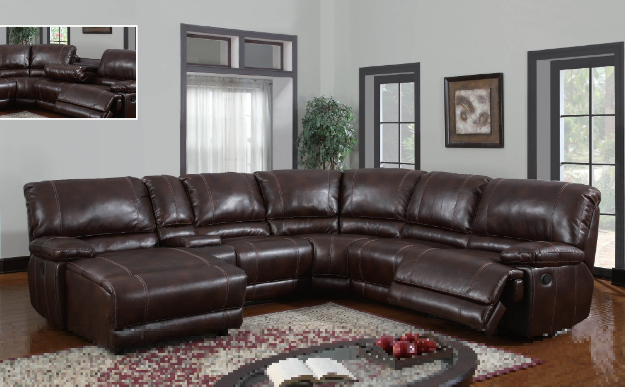 Homesfeed Intended For Most Up To Date Sectionals With Chaise And Recliner (View 5 of 15)