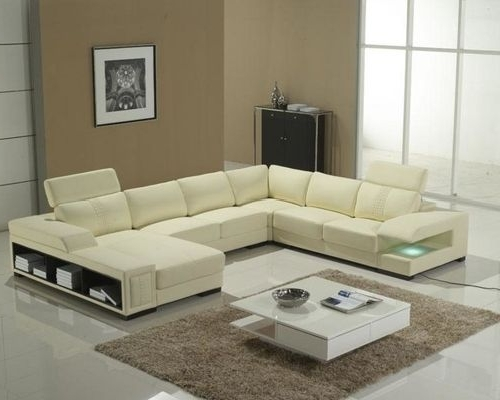 Houzz For Modern U Shaped Sectionals (View 2 of 10)