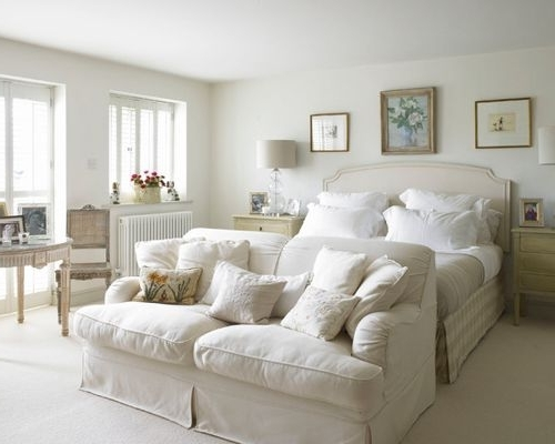 Houzz Throughout Bedroom Sofas (View 8 of 10)
