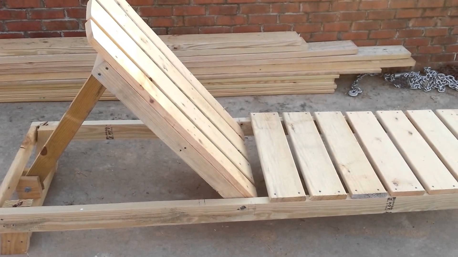 How To Build A Chaise Lounge / Pool Chair Part  (View 6 of 15)