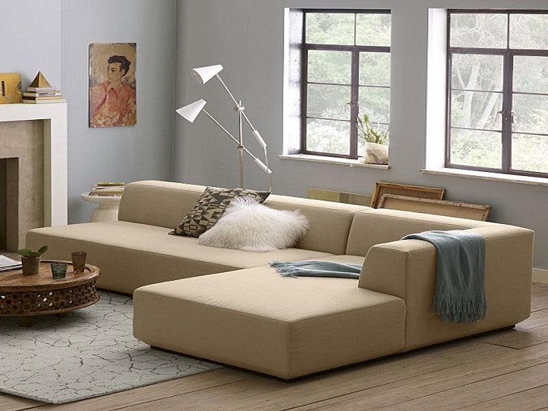 How To Place And Improve The Look Of Small Sectional Sofa In Your With Regard To Most Current Apartment Sectional Sofas With Chaise (View 7 of 15)