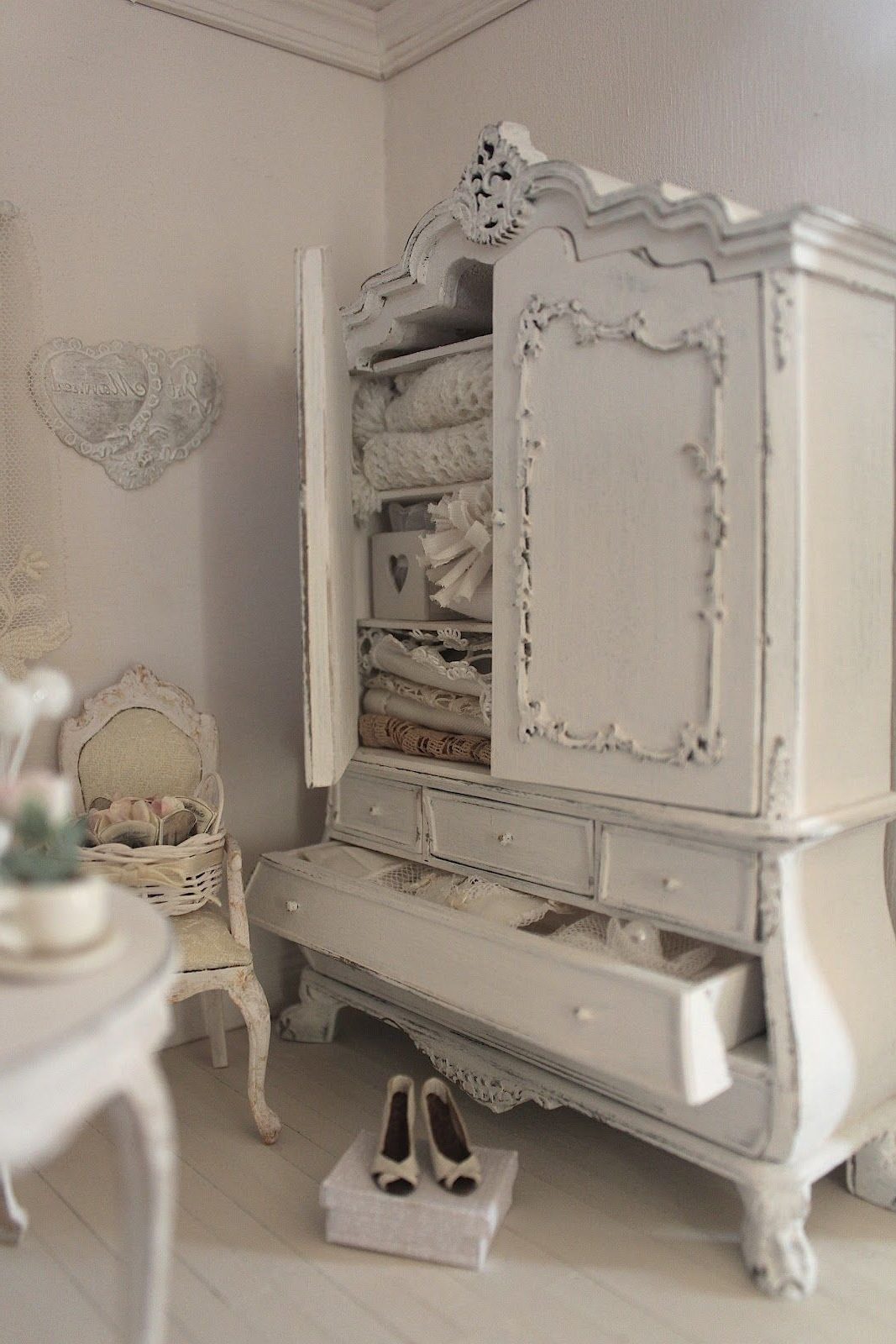 I Think I'm Addicted To Armoires, Is There A Help Group For That Inside 2018 Vintage Shabby Chic Wardrobes (View 5 of 15)