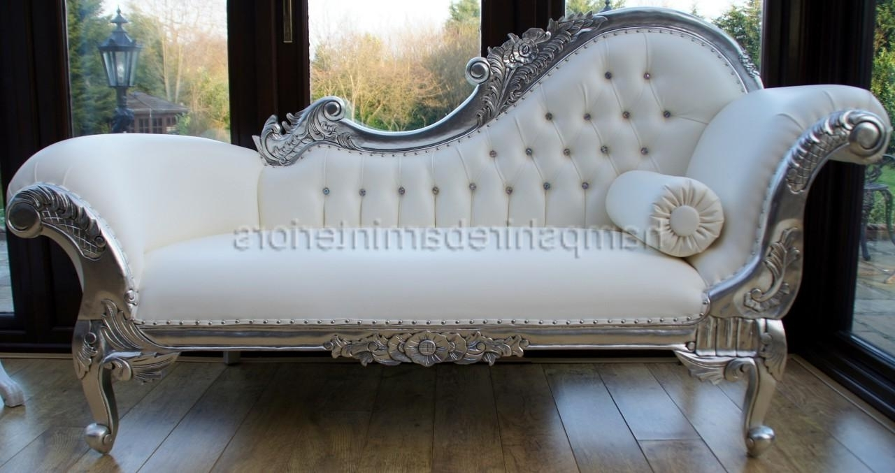 I'd Like To Have An Antique Fainting Couch Under The Window In The For Most Recent Leather Chaise Lounge Sofas (Gallery 13 of 15)