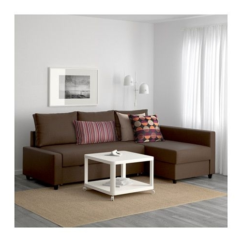 Ikea Corner Sofas With Storage For Latest Friheten Sleeper Sectional,3 Seat W/storage, Skiftebo Dark Gray (View 6 of 10)