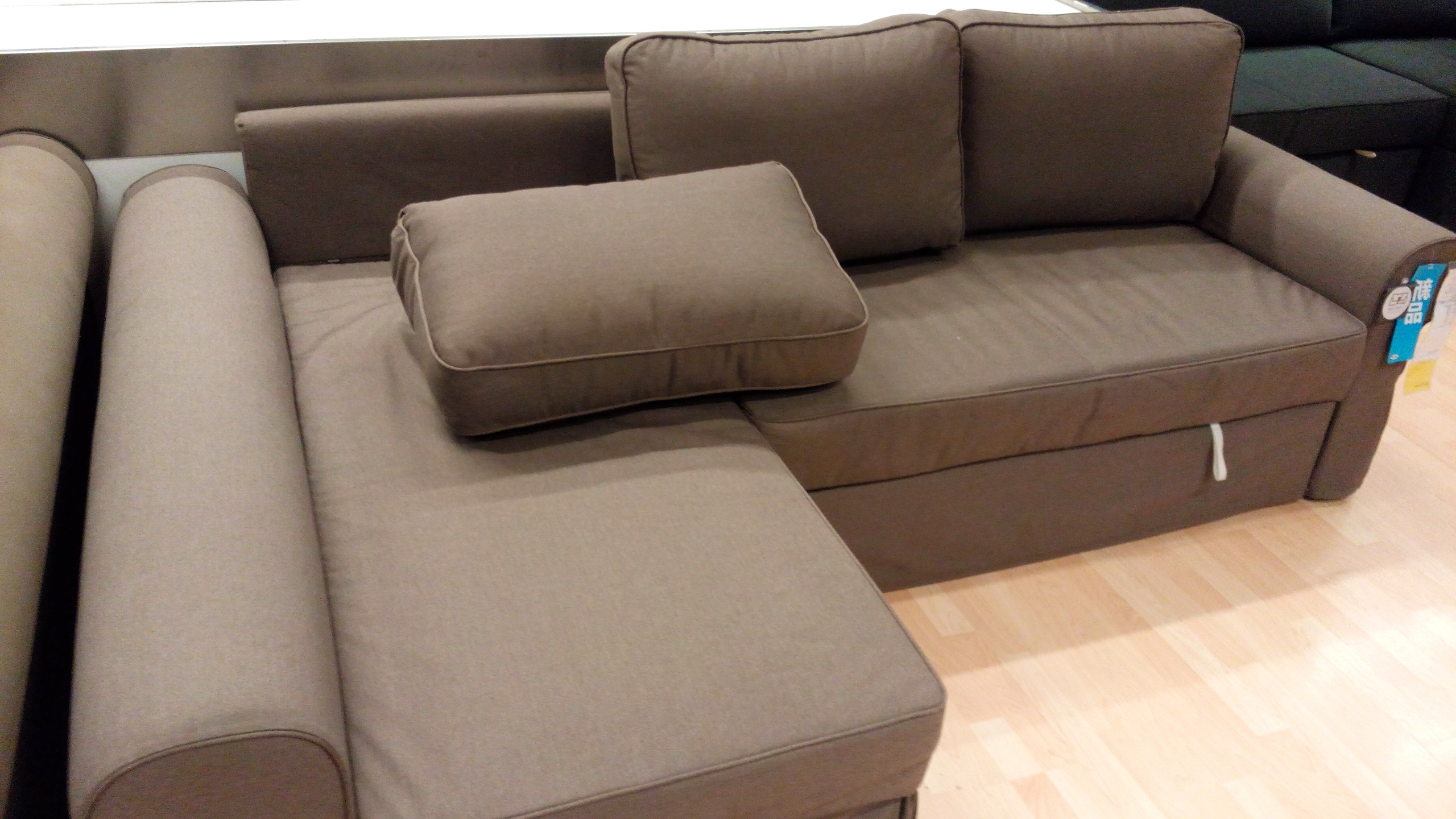 Ikea Vilasund And Backabro Review – Return Of The Sofa Bed Clones! In Current Sofa Beds With Chaise (View 9 of 15)
