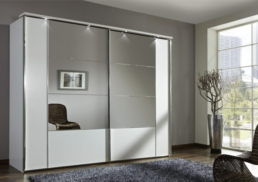Ikea Wardrobe With Mirror Single White 4 Door Antique Pine Can Intended For Popular Single White Wardrobes With Mirror (View 3 of 15)