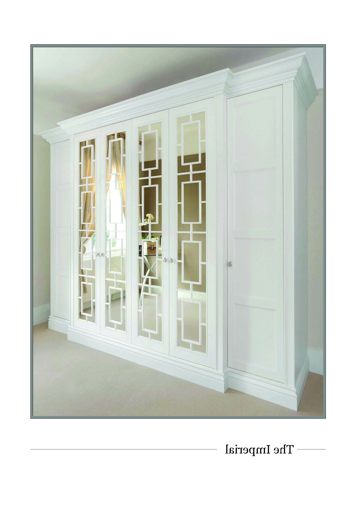 Imperial Wardrobes Inside Popular New Imperial Wardrobe Door Makes An Entrance – The Heritage (Gallery 7 of 15)