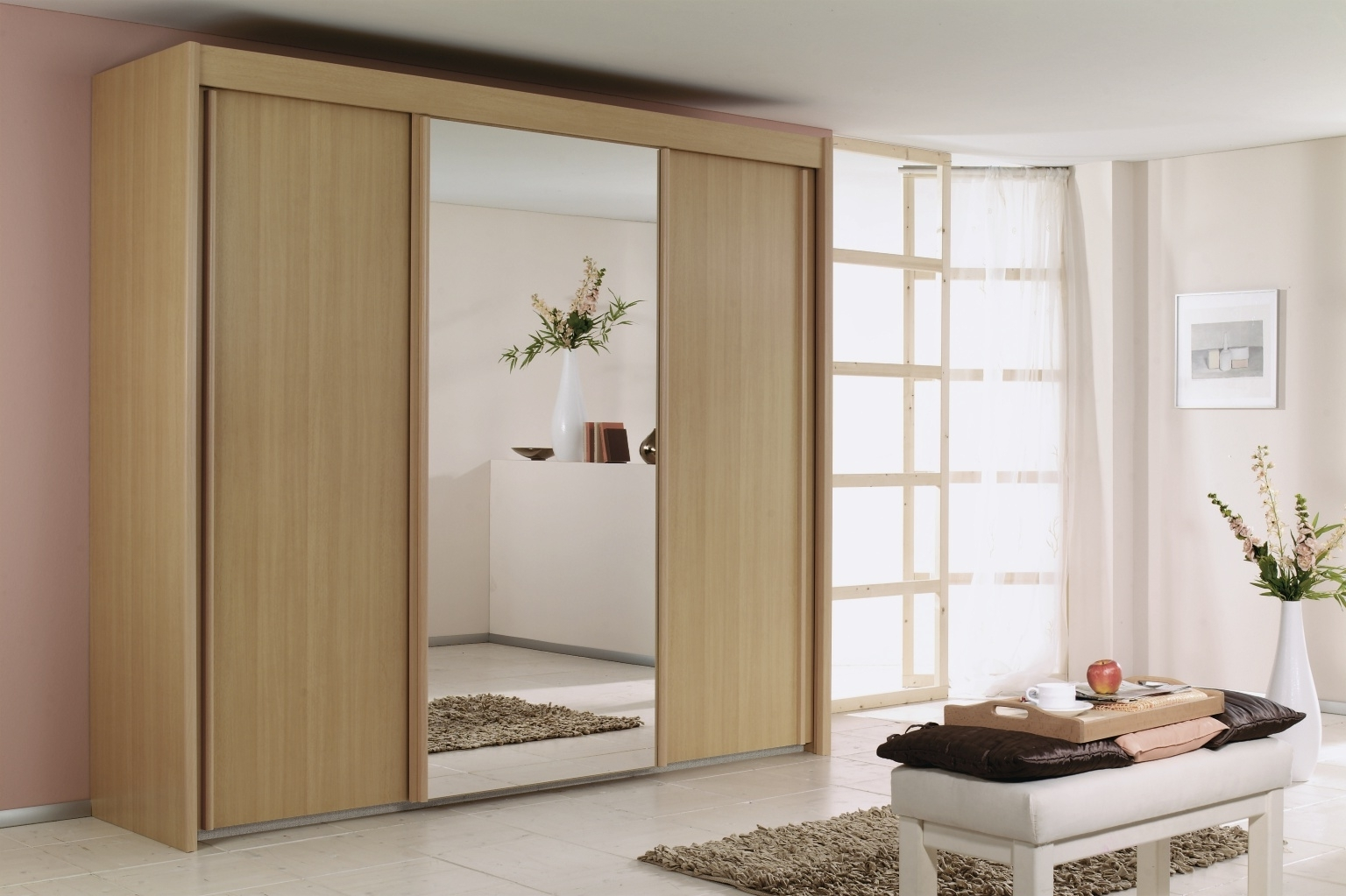 Imperial Wardrobes With Regard To Latest Rauch Imperial Sliding Wardrobe – Furniture Brothers (Gallery 11 of 15)