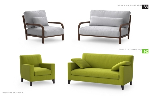 Impressive Sofas & Armchairs On Pair Of George Smith Jules Intended For Favorite Sofa Arm Chairs (View 3 of 10)
