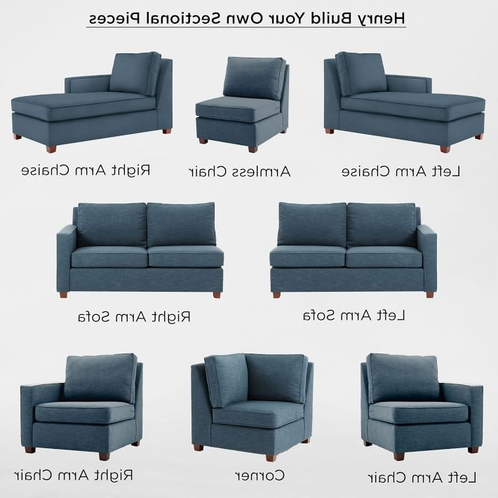 Individual Piece Sectional Sofas Pertaining To Well Known Build Your Own – Henry® Sectional Pieces (View 2 of 10)