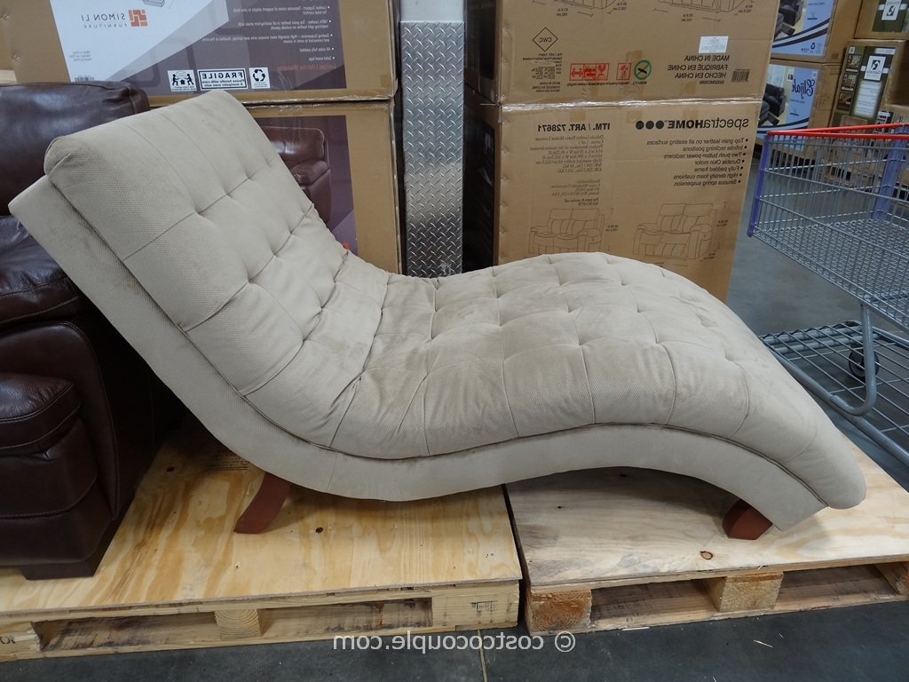 Indoor Chaise Lounge Chair That Was Sold At Costco – Google Search Inside Latest Fabric Chaise Lounge Chairs (Gallery 13 of 15)