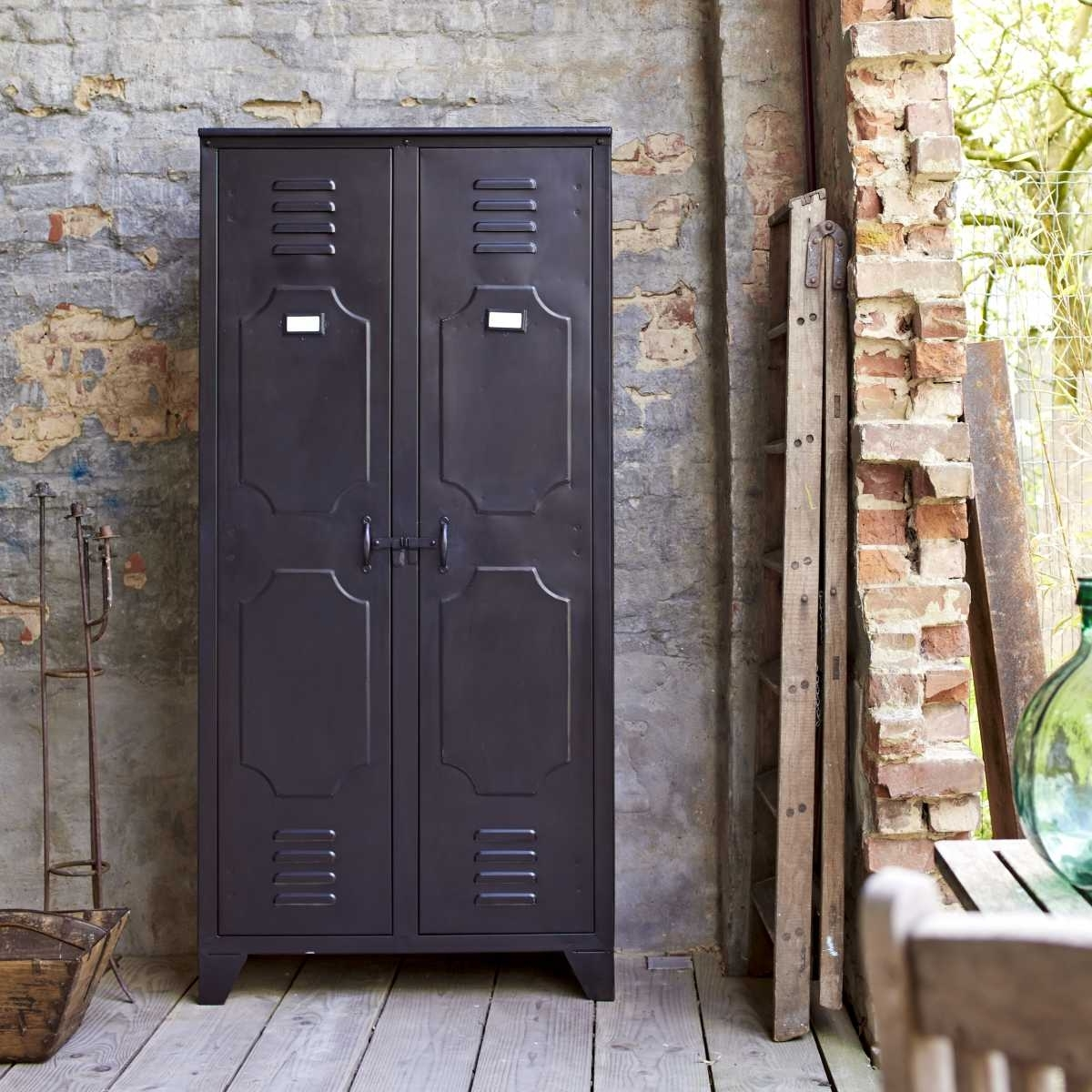 Indoor & Outdoor Decor Pertaining To Recent Industrial Style Wardrobes (View 13 of 15)