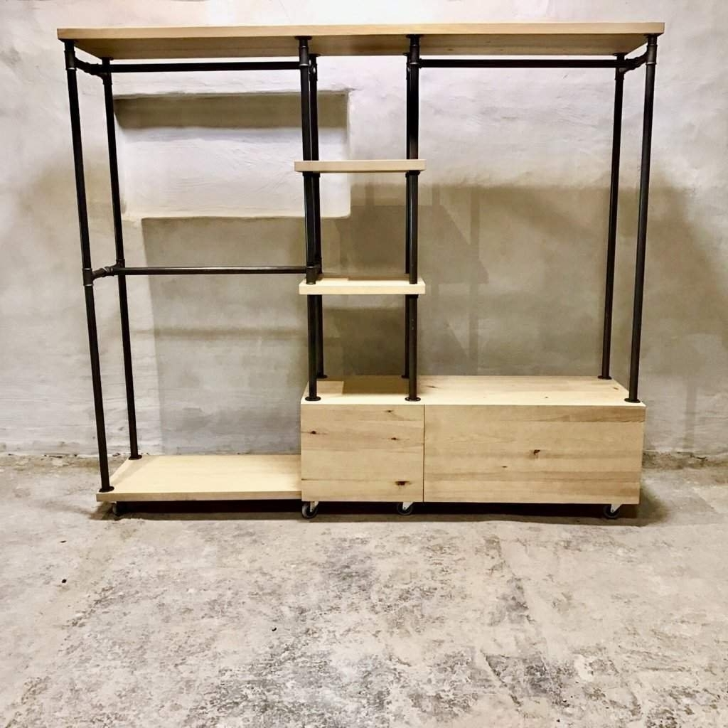 Industrial Style Wardrobe Unit (View 15 of 15)