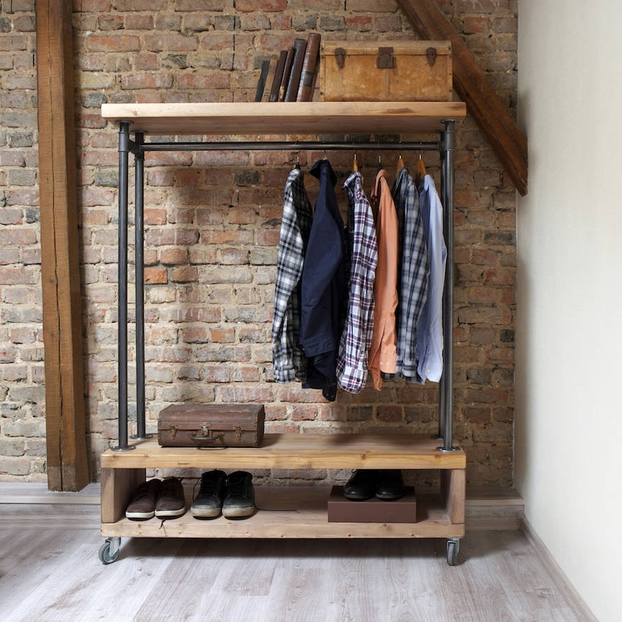 Featured Photo of Industrial Style Wardrobes