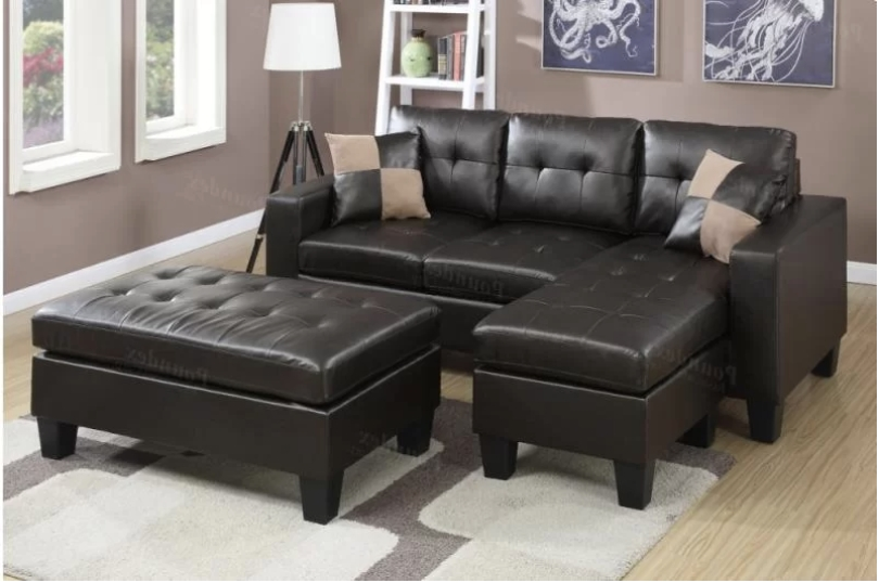Inexpensive Sectional Sofas For Small Spaces With Best And Newest 75 Modern Sectional  Sofas For Small
