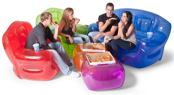 Inflatable Furniture: Budget Friendly Strength & Style With Preferred Inflatable Sofas And Chairs (Gallery 1 of 10)