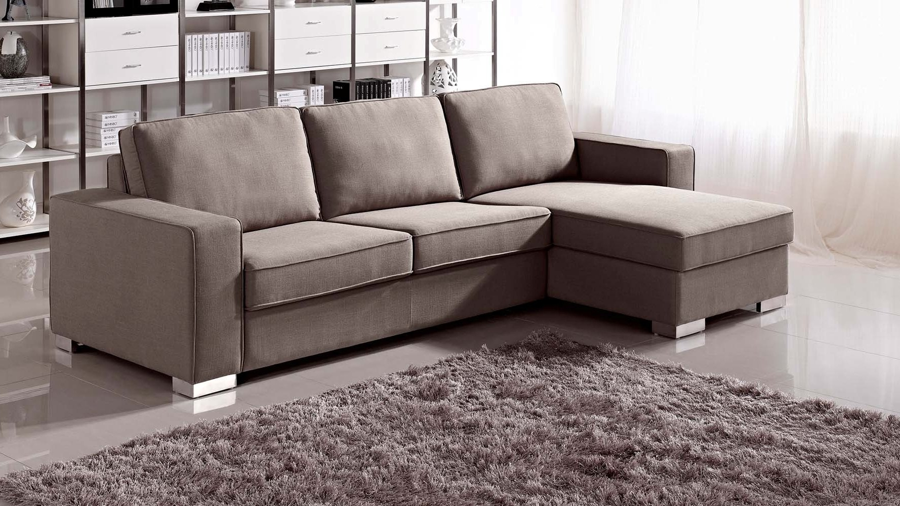 Featured Photo of Sleeper Sectionals With Chaise