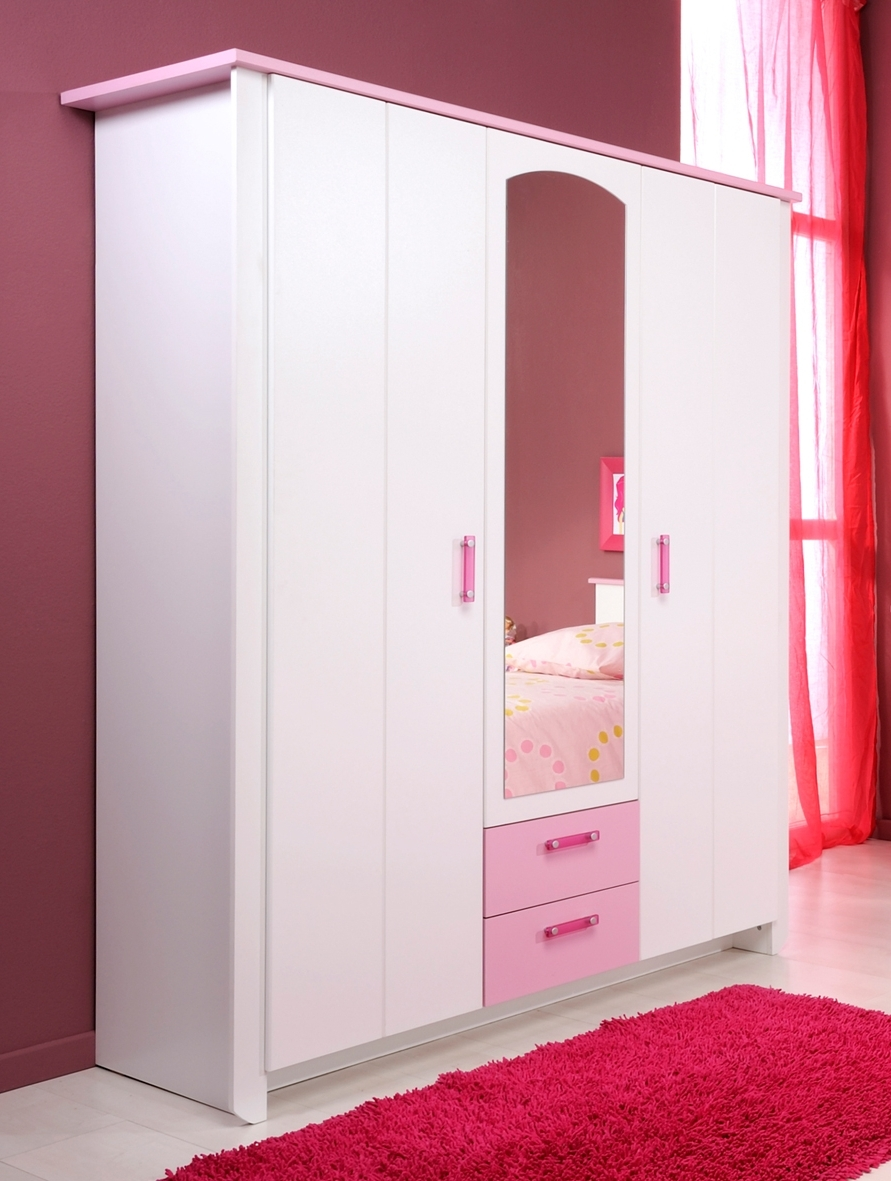 Interior Design Kitchen Also Modern Wardrobes Designs With Mirror Within Most Popular Girls Wardrobes (Gallery 9 of 15)