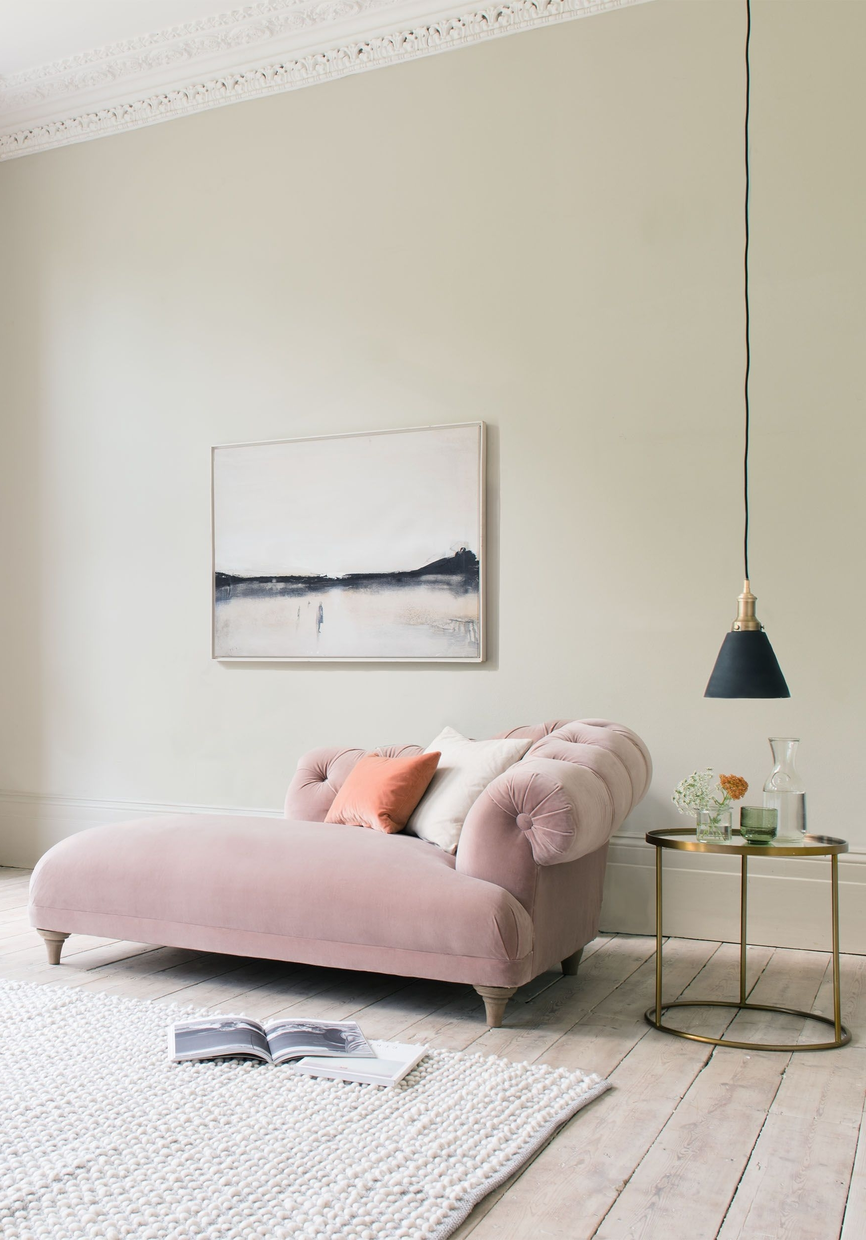 Interiors, Bed Furniture And Living Rooms Regarding Trendy Pink Chaises (Gallery 11 of 15)
