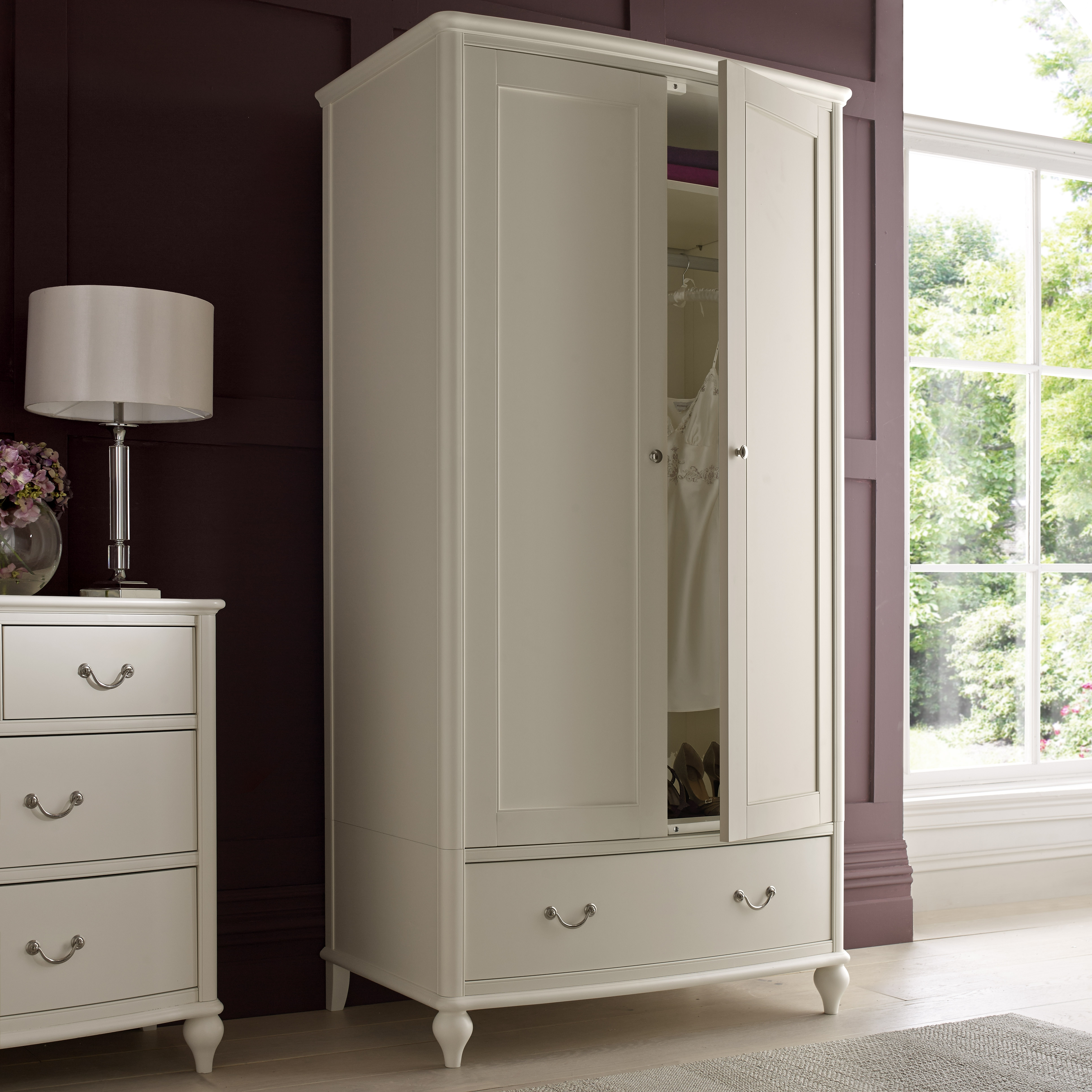 Ivory Wardrobes Throughout Preferred Bordeaux – Signature – Range (Gallery 14 of 15)