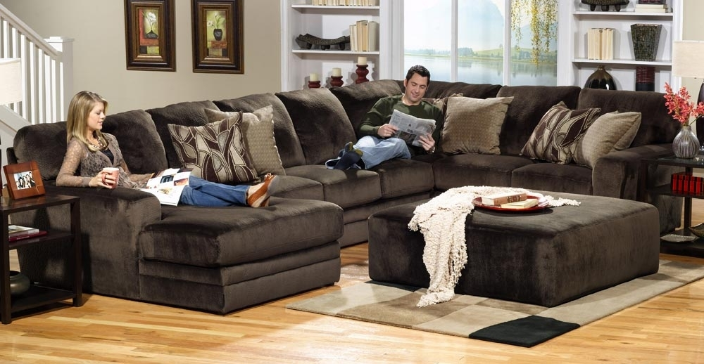 Jackson Everest Customizable Sectional Sofa Set B – Chocolate Jf Inside 2017 Sectional Sofas With Ottoman (View 3 of 16)