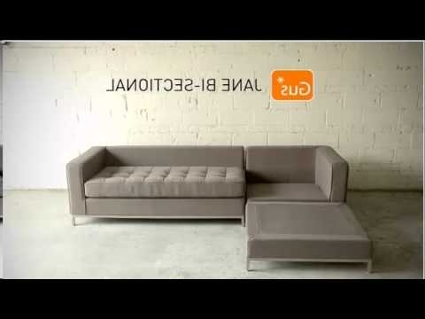Jane Bi Sectionalgus – Youtube Within Famous Jane Bi Sectional Sofas (Gallery 4 of 10)