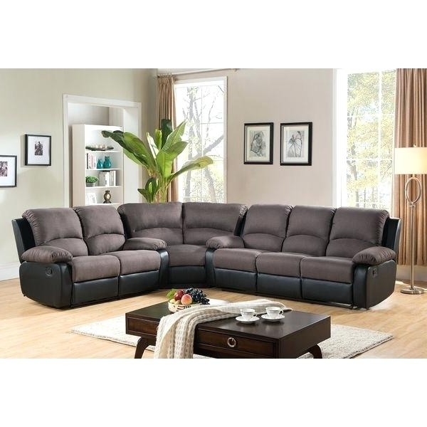 Jedd Fabric Reclining Sectional Sofas Inside Well Liked Fabric Reclining Sectional – Chatel.co (Gallery 4 of 10)
