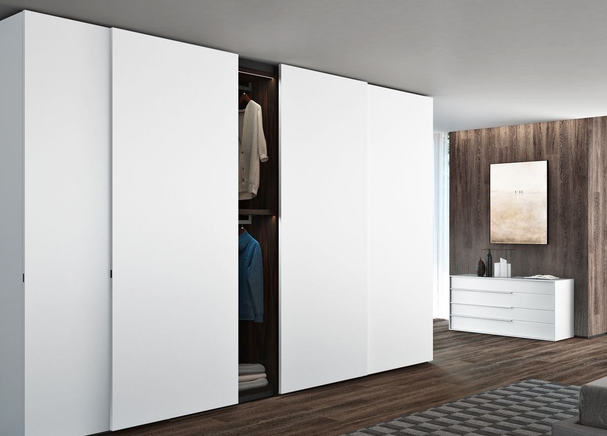Jesse Plana Sliding Door Wardrobe – Jesse Wardrobes At Go Modern With Well Known Coloured Wardrobes (Gallery 15 of 15)